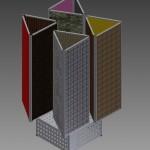 display rotativ tapet